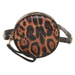 LEOPARD HALO BELT BAG