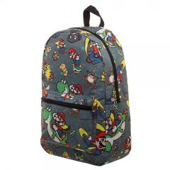 Snes Mario Sublimated Backpack - poshopolis