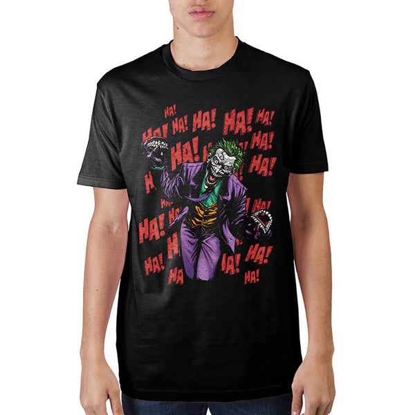 Joker Ha Ha Ha Black T-Shirt
