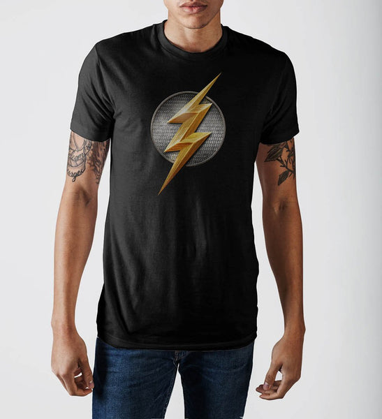 Justice League Flash Logo T-Shirt - poshopolis