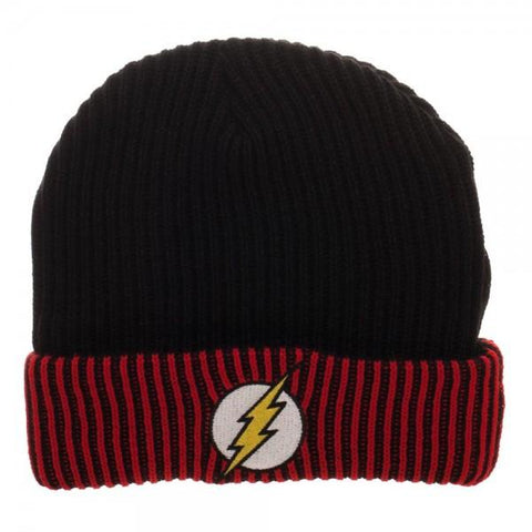 Flash Logo Reversible Beanie - poshopolis