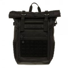 Call of Duty Black Military Roll Top Backpack with Laser Cuts - poshopolis