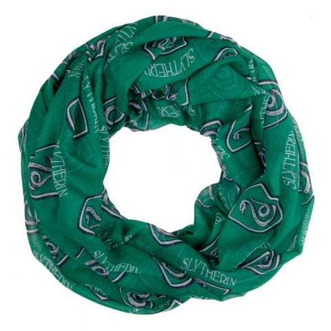 Harry Potter Slytherin Viscose Scarf - poshopolis