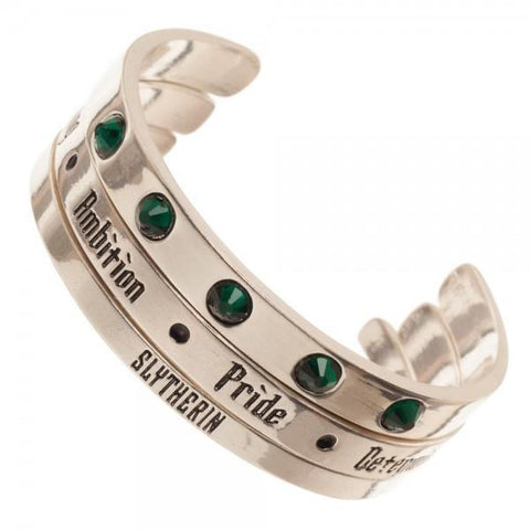 Harry Potter Slytherin 3 Pack Cuff Set Bracelet