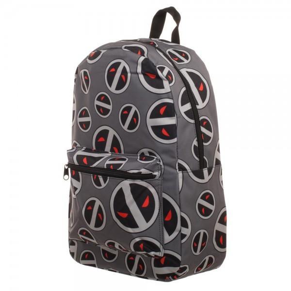 Marvel Deadpool X-Force Sublimated Backpack - poshopolis