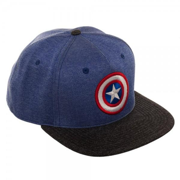 Captain America Two Tone Cationic Snapback - poshopolis
