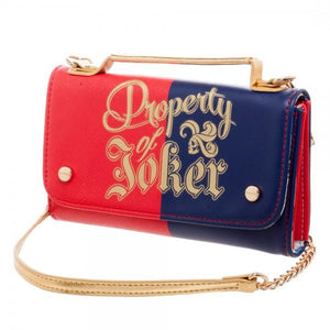 Suicide Squad Harley Crossbody Clutch