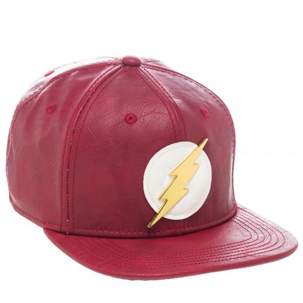 DC Comics Flash PU Snapback - poshopolis
