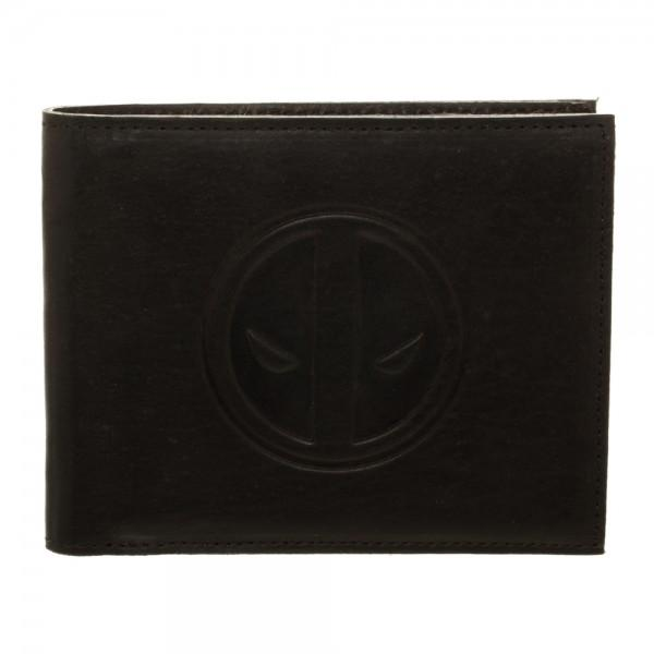 Marvel Deadpool Leather Bi-Fold Wallet - poshopolis