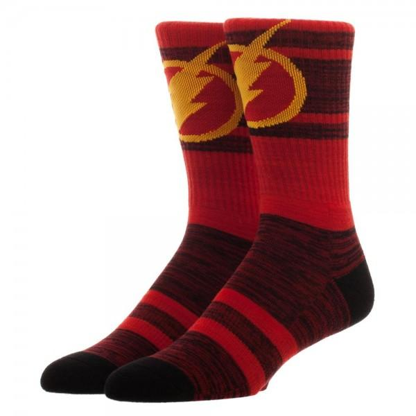 DC Comics Flash Marled Socks - poshopolis