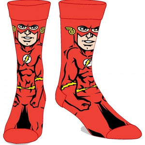 DC Comics Flash 360 Crew Socks - poshopolis