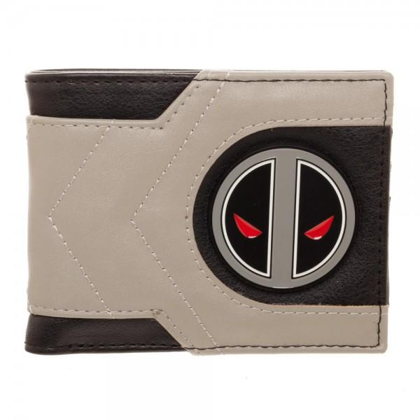 Marvel Deadpool X-Force Bi-Fold Wallet - poshopolis