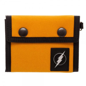 Flash Fabric Tri-Fold Snap Wallet - poshopolis
