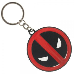 Marvel Deadpool Metal Keychain - poshopolis