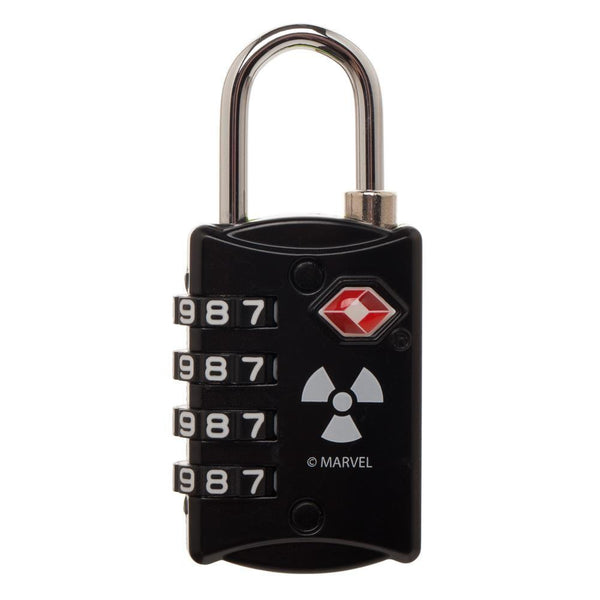 Marvel Comics Hulk Graphic Design TSA Approved Travel Combination Luggage Lock for Suitcase Baggage - poshopolis