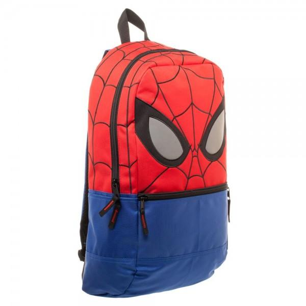 Marvel Spiderman Backpack with Reflective Eyes - poshopolis