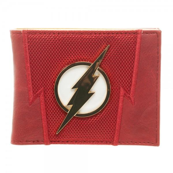 DC Comics Flash Suit Up Bi-Fold Boxed Wallet - poshopolis