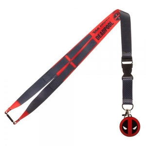 Marvel Deadpool Suit Up Lanyard - poshopolis