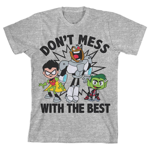 Teen Titans Go Youth TShirt for Boys