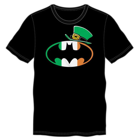 Batman St. Patrick's Logo Black T-Shirt