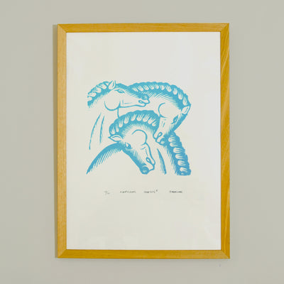 Neptunes Horses - Silk Screen
