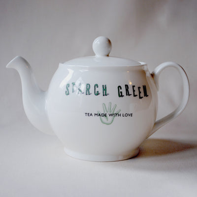 Starch Green Tea Pot