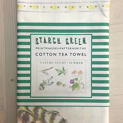 Nature Study - Summer -  Tea Towel