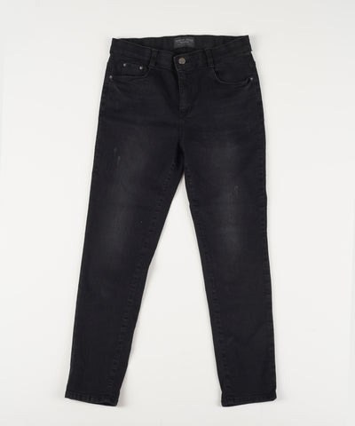 Lady [select] Stretch Skinny Jeans BLACK - Rora