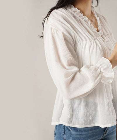 Lady Sheer Cardigan Top - Rora