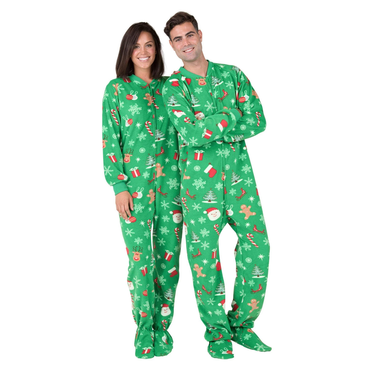 Family Matching Tis the Season Day Fleece Onesie