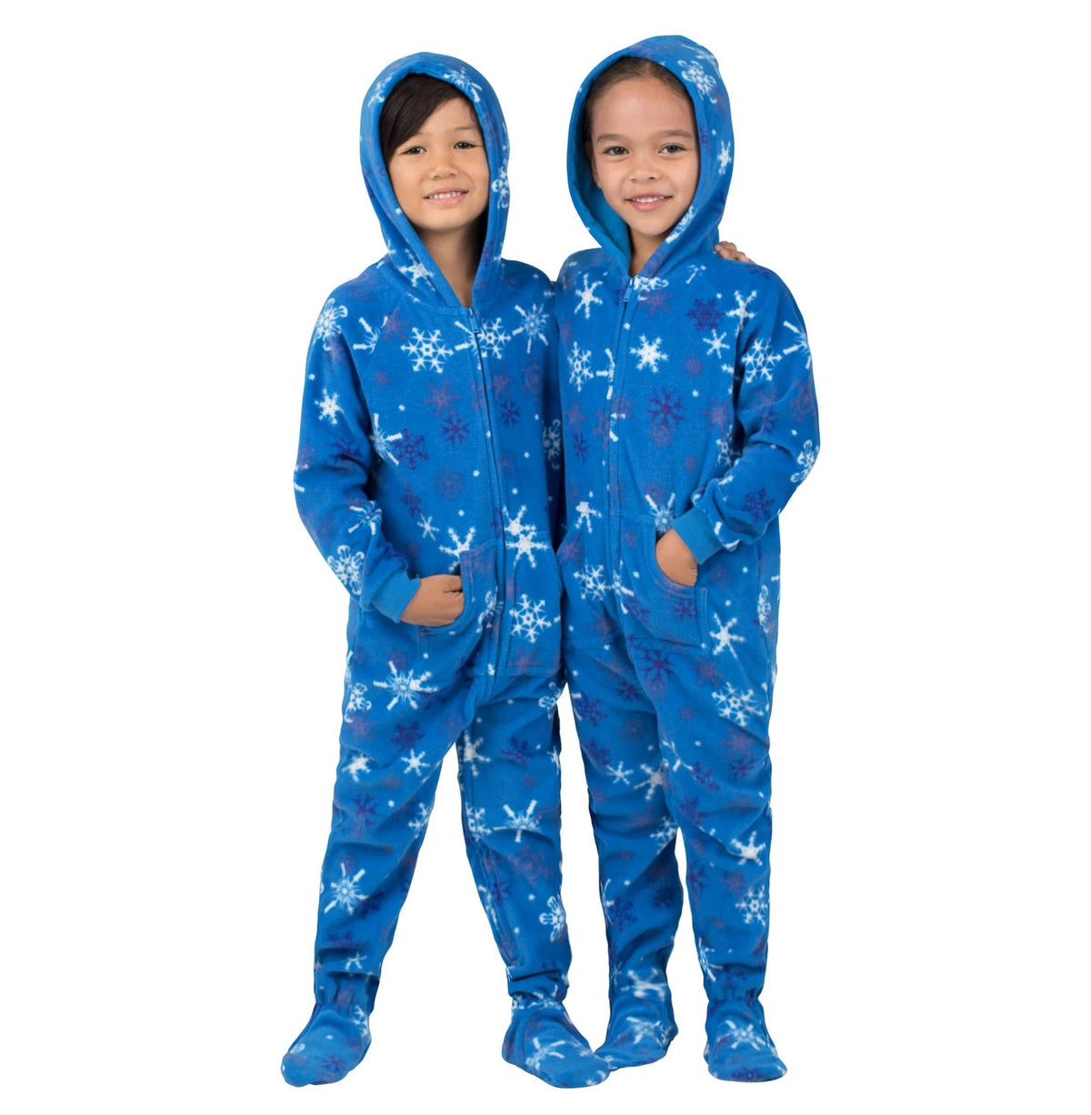 Family Matching Its A Snow Day Hoodie Fleece Onesie