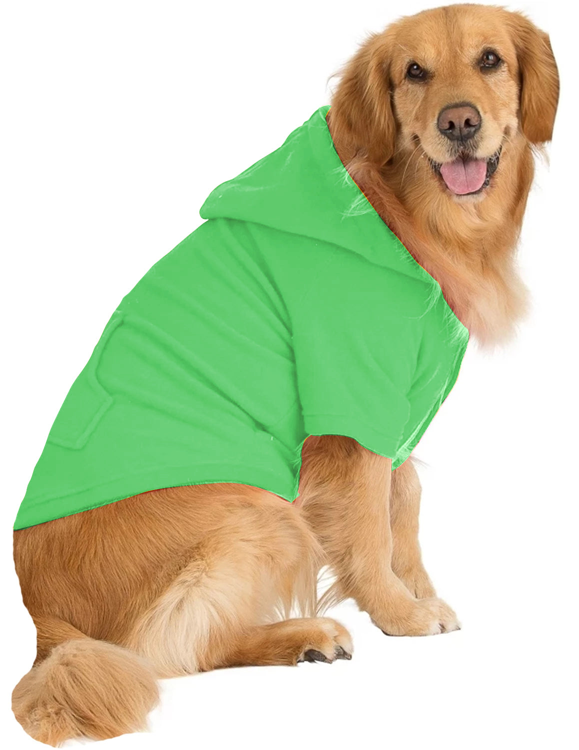 Emerald Green Pet Pjs Fleece Hoodie