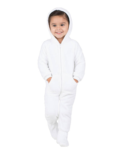 In The Clouds Infant Hoodie Chenille Onesie