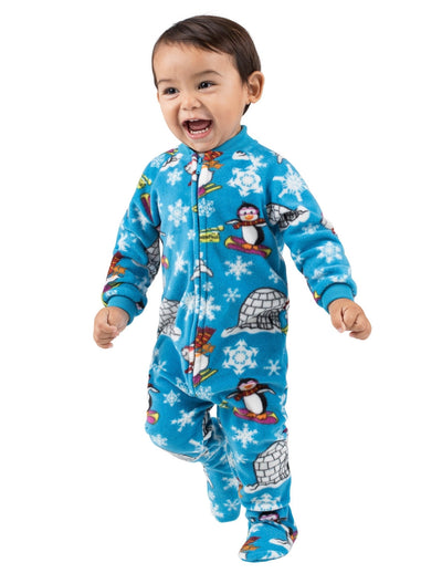 Winter Wonderland Infant Fleece Onesie