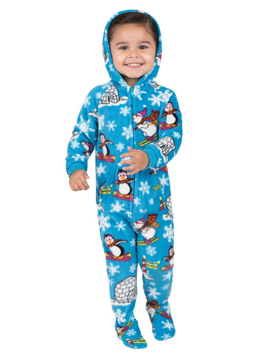 Winter Wonderland Infant Hoodie Fleece Onesie