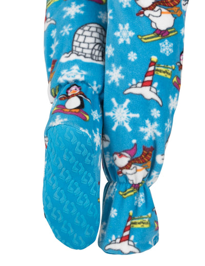 Winter Wonderland Kids Fleece Onesie
