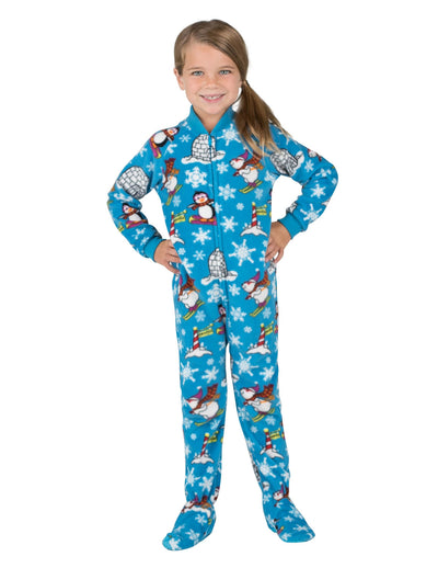 Winter Wonderland Toddler Fleece Onesie