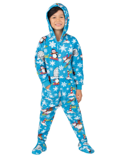 Winter Wonderland Toddler Hoodie Fleece Onesie