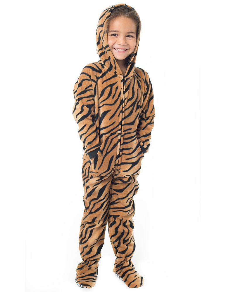 Tiger Stripes Toddler Hoodie Onesie