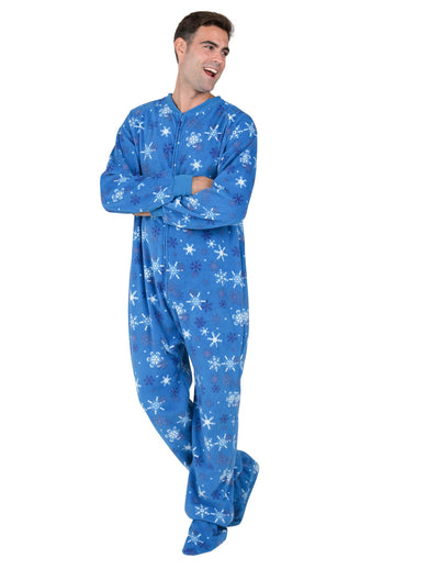 Its A Snow Day Adult Fleece Onesie