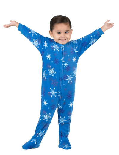 Its A Snow Day Infant Fleece Onesie