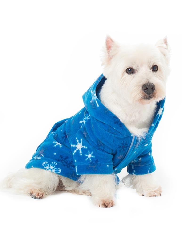 Its A Snow Day Pet Pjs Fleece Hoodie