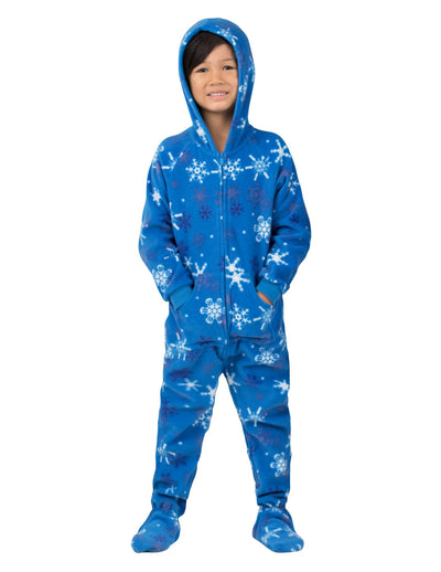 Its A Snow Day Toddler Hoodie Fleece Onesie