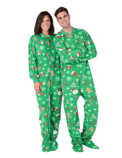 Tis The Season Adult Fleece Onesie