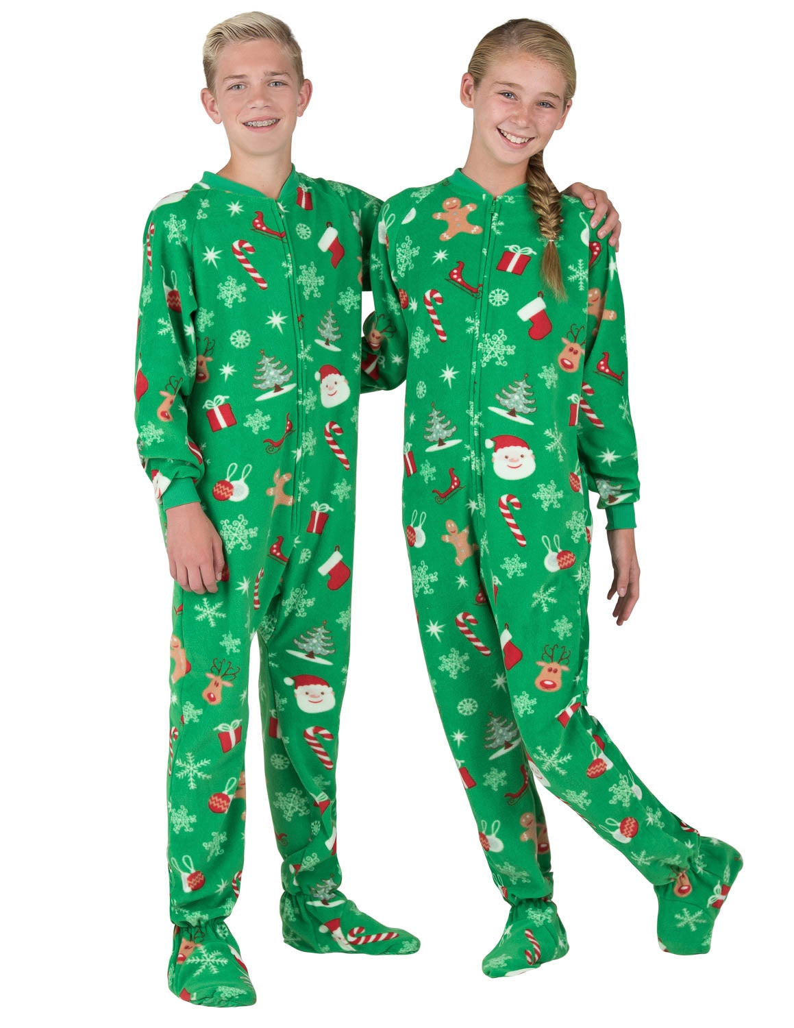 Tis The Season Kids Fleece Onesie