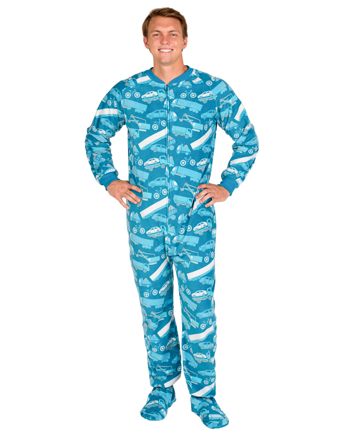 Automotive Adult Fleece Onesie