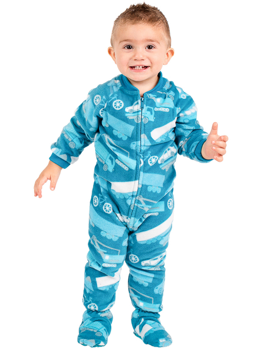 Automotive Infant Fleece Onesie