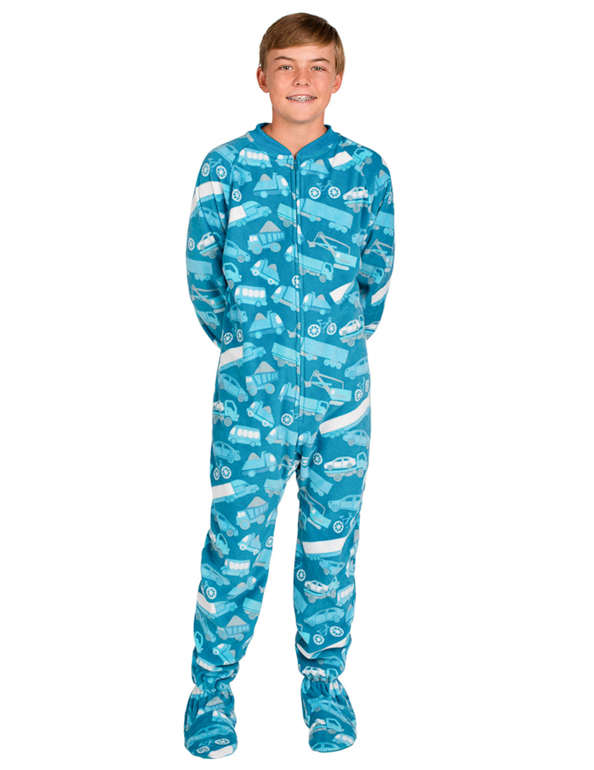 Automotive Kids Fleece Onesie