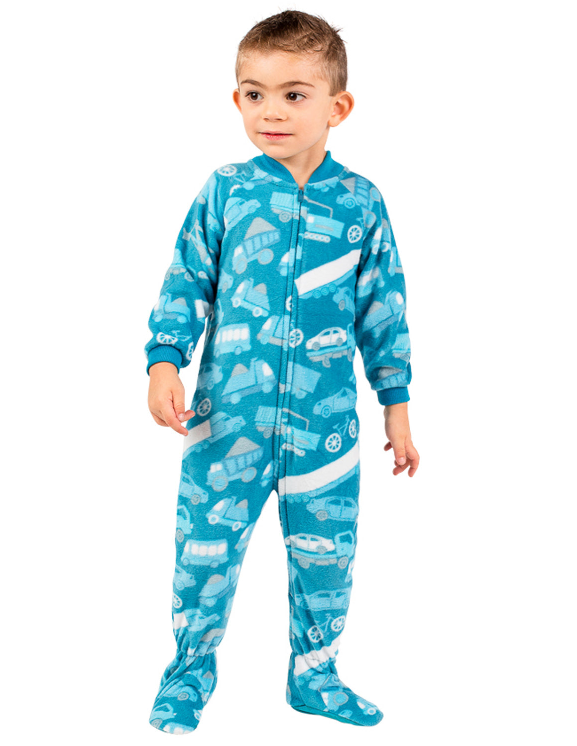 Automotive Toddler Fleece Onesie