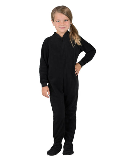Midnite Black Toddler Fleece Onesie